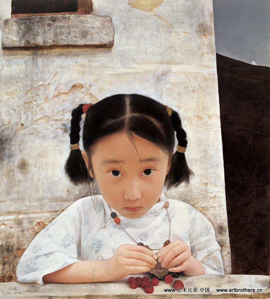 中国梦教育梦油画
